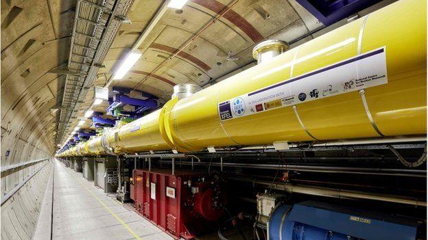XFEL tunnel complex