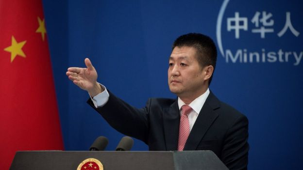 người phát ngôn bộ ngoại giao Trung Quốc