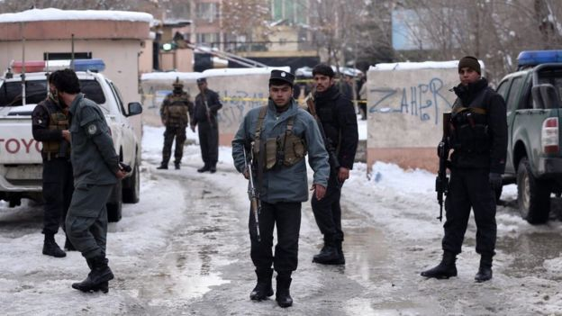 Кабул, усиленная охрана здания суда