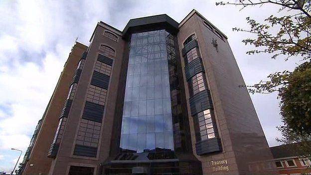 Irish Treasury Building