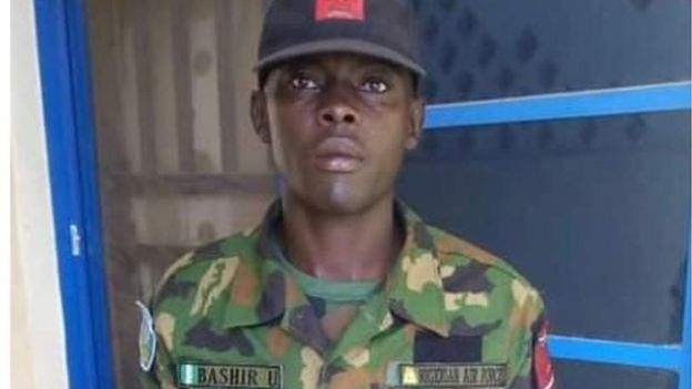 Bashir Umar di Air force officer wey return €37,000 collect