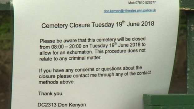 Anglesey exhumation 33 years after man went missing - BBC News