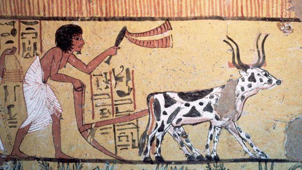 Cuadro egipcio.