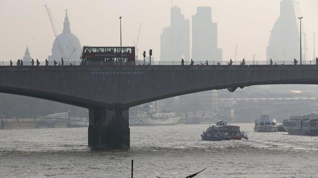 Puente de Waterloo en Londres