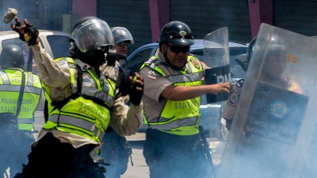 Cuerpos policiales