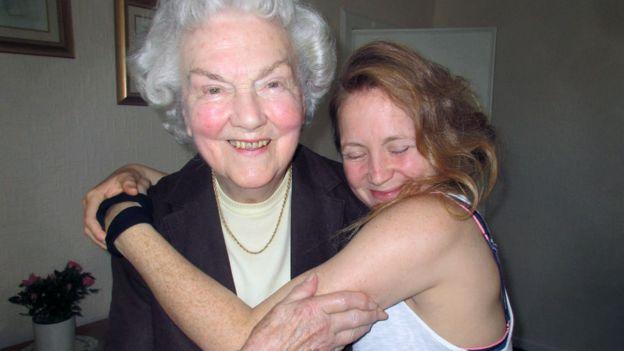 Hollie McNish y su abuela