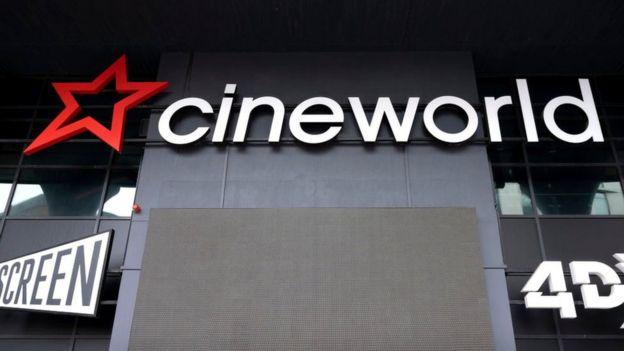 Cineworld entrance