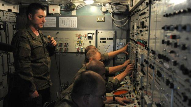Пункт управления комплексом С-300
