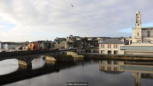 Imagem mostra o rio Shannon, da Irlanda
