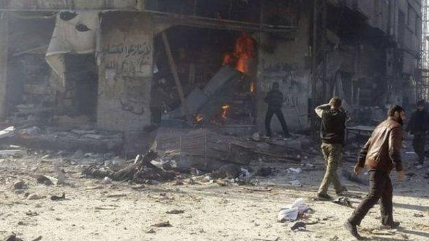 Y gwrthdaro yn Syria