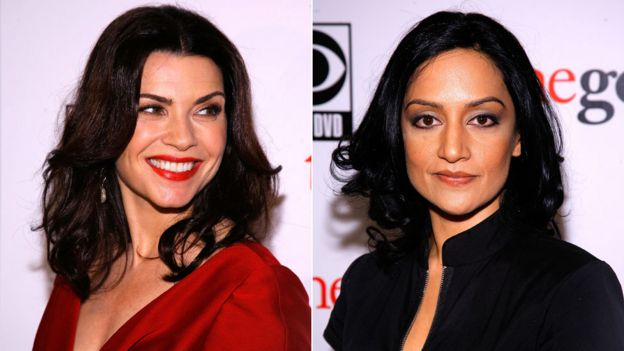 Julianna Margulies and Archie Panjabi