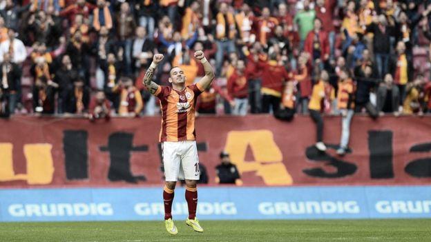 Sneijder Galatasaray'da