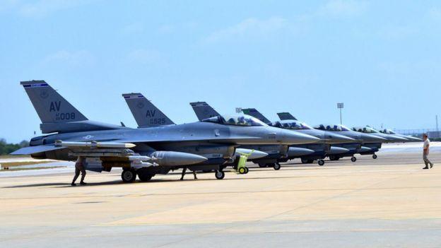 İncirlik üssündeki ABD jetleri