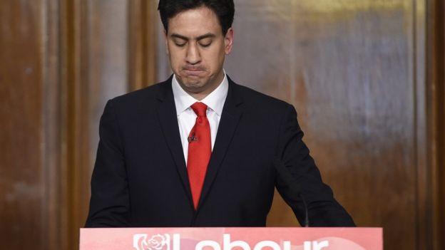Ed Miliband resigns