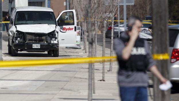 قتلى وجرحى في حادث دهس في مدينة تورونتو الكندية