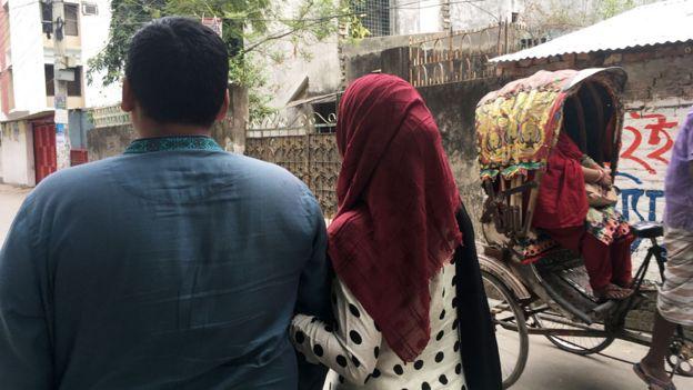 Mohammed y su esposa Nusrat
