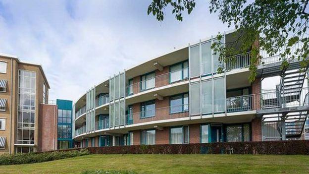 Edificio del hogar en Deventer, Holanda