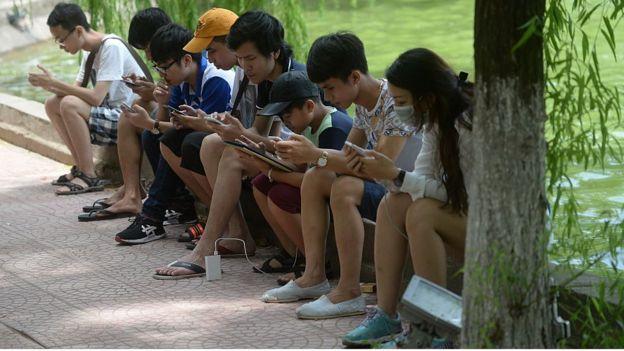 Вьетнамцы используют социальные сети больше, чем Китайцы