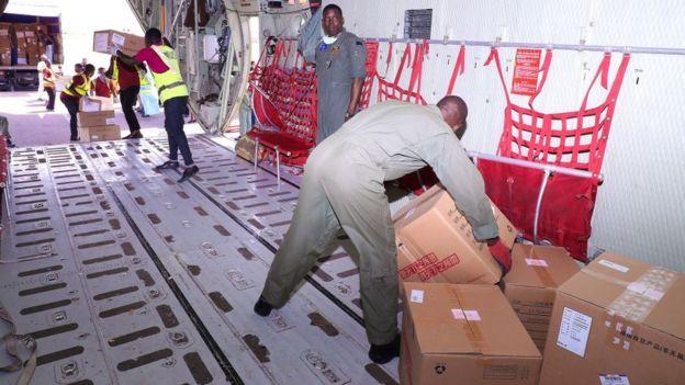 Donaciones de Ma en Nigeria.