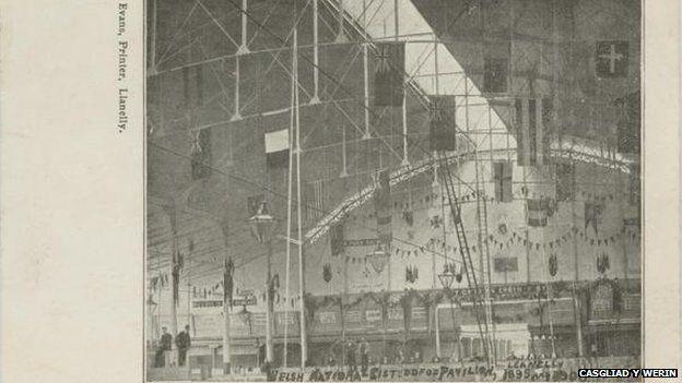 Eisteddfod Llanelli 1895 ac 1903