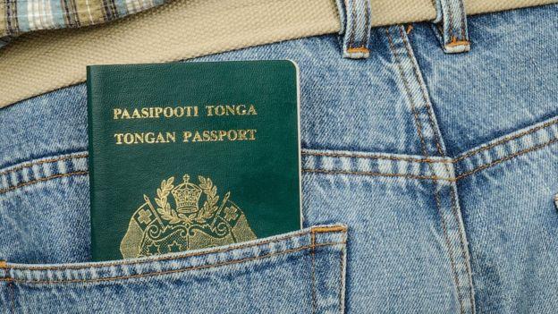 Pasaporte de Tonga