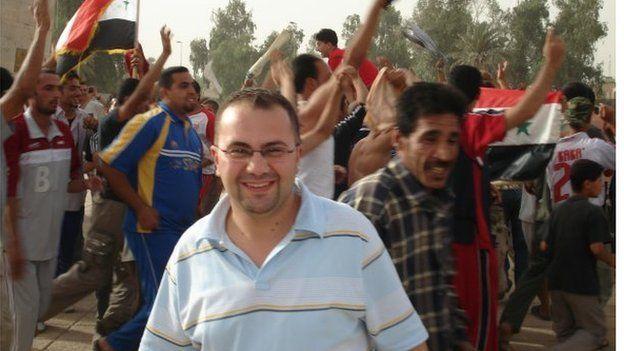 Munther after Iraq national footbal team win