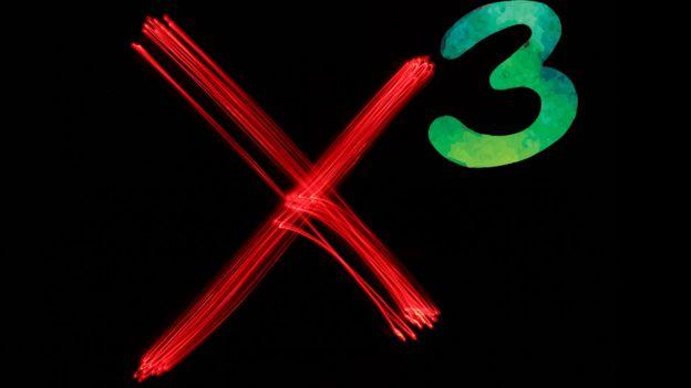 X a la 3ª potencia