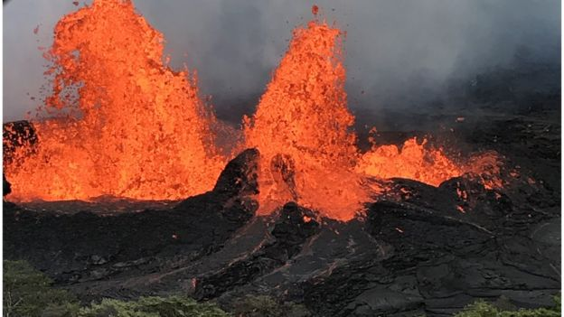 Hawaii Races to Secure Power Plant Threatened by Lava Flows