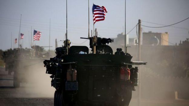 دبابة تابعة للجيش الأمريكي