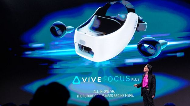 HTC showed off its latest VR headset at Mobile World Congress