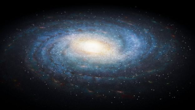 earliest galaxies found on our cosmic doorstep bbc news