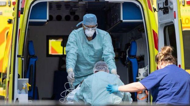 Ambulancia Reino Unido
