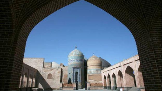 مجموعة الخانقه وحرم الشيخ صفيّ الدين في أردبيل