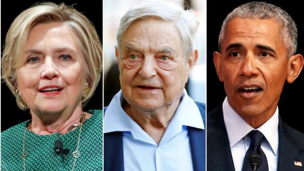 Clinton, Obama y Soros