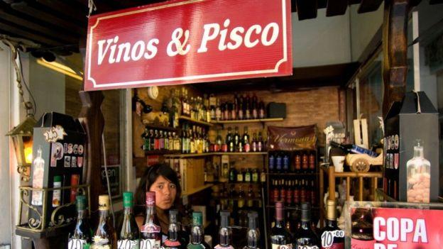 Foto de vinos y pisco en Lima