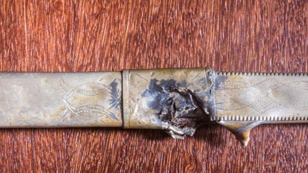 Punhal utilizado por Lampião.