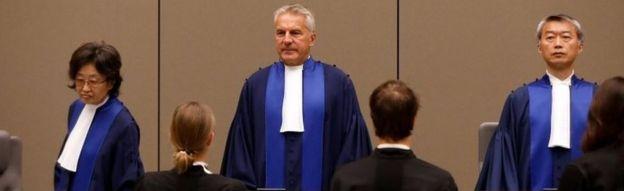 國際刑事法院的法官們