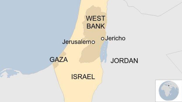 Ramani ya West Bank