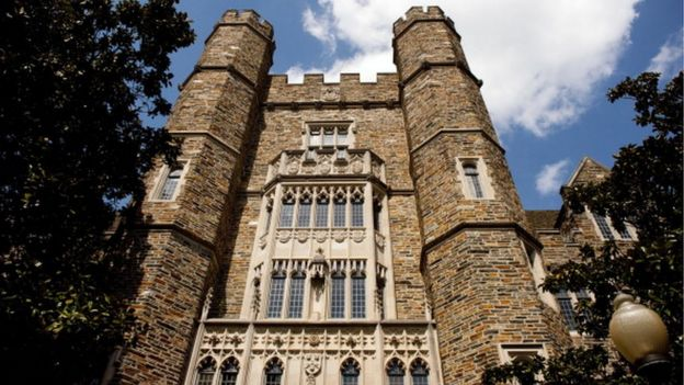 Edificio de la Universidad de Duke.