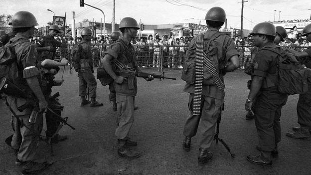 Protestas en Filipinas en 1986