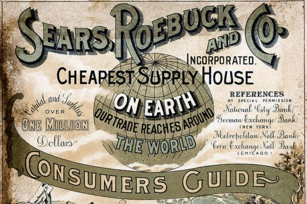 Sears catalogue from 1900