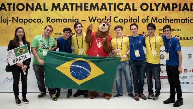 Equipe brasileira da Olimpíada Internacional de Matemática