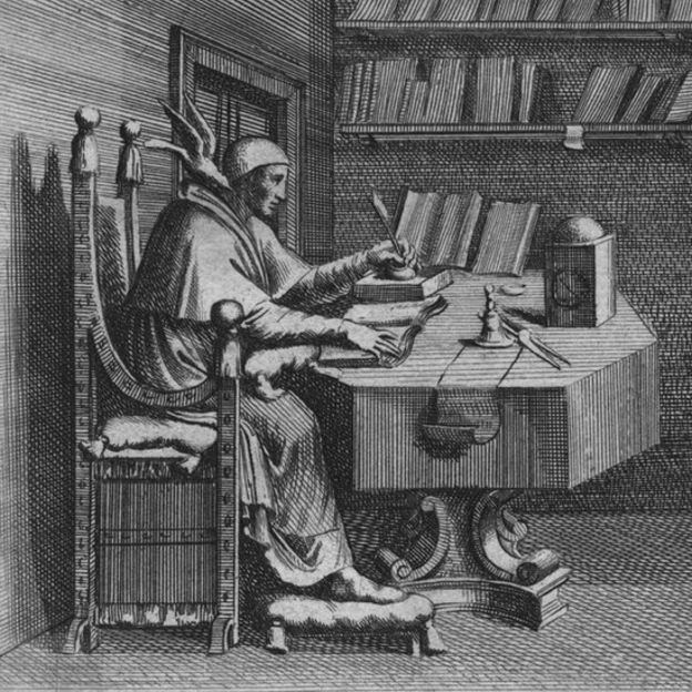 Una ilustración del papa Gregorio I