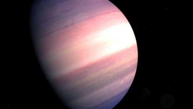 ناسا کے اس خاکے کے مطابق یہ سیارہ شاید کچھ اس طرح کا نظر آتا ہوگا
