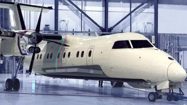 Avião batizado de Projeto 804