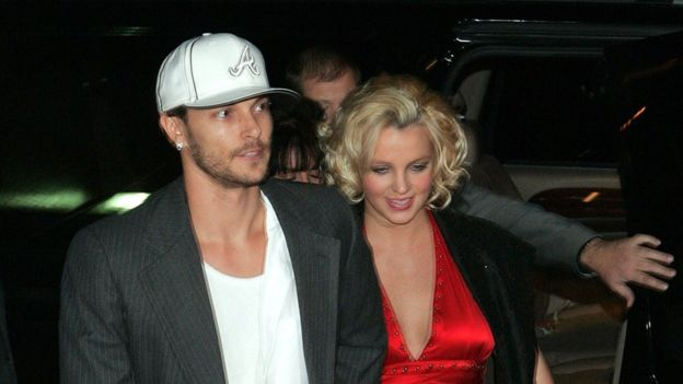 Britney and Kevin Federline