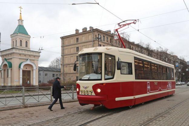 Un tranvía impulsado por hidrógeno en Rusia
