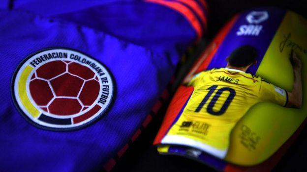 James Rodríguez no estará en el partido.