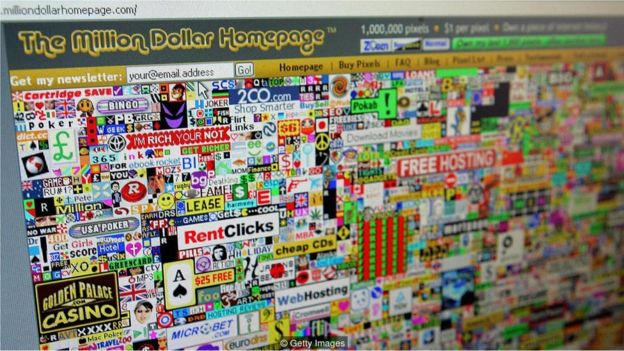 The Million Dollar Homepage
