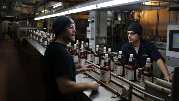 производство виски в сша